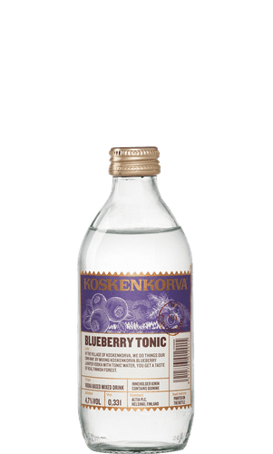 Koskenkorva Blueberry Tonic
