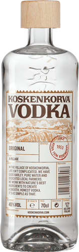koskenkorva vodka bottle
